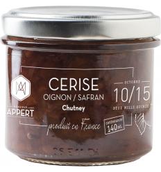 CHUTNEY CERISE OIGNON SAFRAN-MR APPERT - Maison Ferrero - Epicerie à Ajaccio