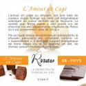 RRRAW CUBES 55 GR L'AMOUR EN CAGE BIO - Maison Ferrero - Epicerie à Ajaccio