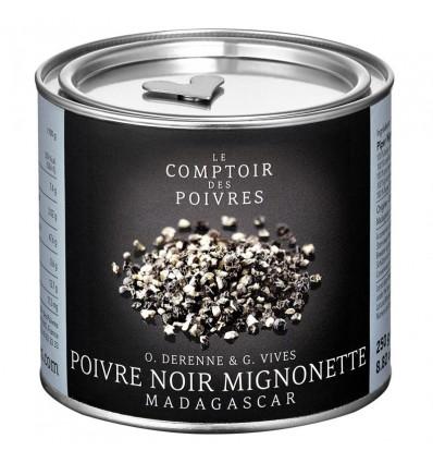 POIVRE NOIR CONCASSÉ DIT « MIGNONETTE » DE MADAGASCAR