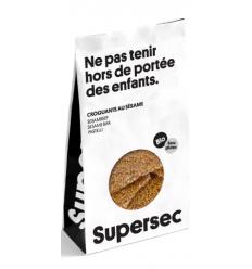 SESAME-CROQUANTS DE SESAMES AU MIEL -SUPERSEC