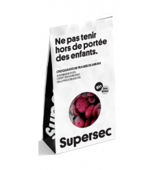 FRUITS-CROQUANTS DE FRAMBOISE BIO SANS GLUTEN-SUPERSEC