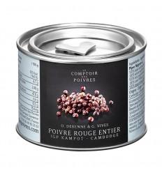 POIVRE ROUGE ENTIER IGP KAMPOT-COMPTOIR DES POIVRES - Maison Ferrero - Epicerie à Ajaccio