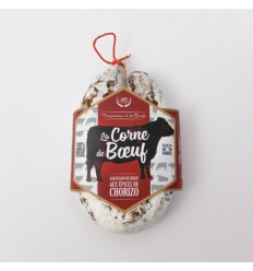 SAUCISSON CORNE DE BOEUF ANGUS EPICE CHORIZO-DHB - Maison Ferrero - Epicerie à Ajaccio