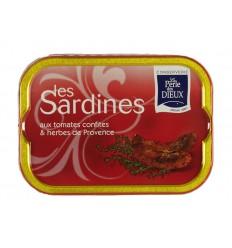 SARDINES A LA TOMATE CONFITE 115GR-PERLE DES DIEUX - Maison Ferrero - Epicerie à Ajaccio