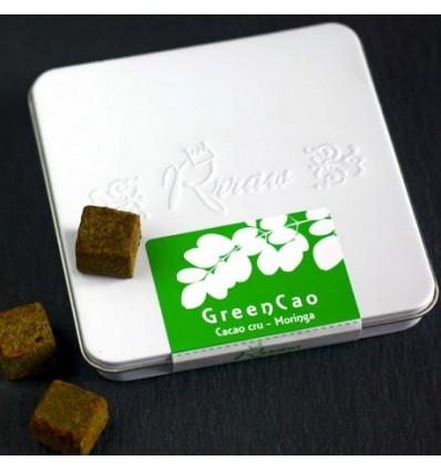 RRRAW CUBES 100 GR GREENCAO BIO - Maison Ferrero - Epicerie à Ajaccio