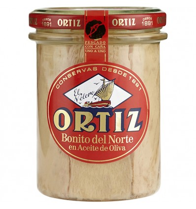 THON GERMON BOCAL VERRE 400GR- ORTIZ - Maison Ferrero - Epicerie à Ajaccio