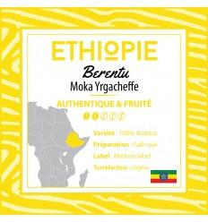 CAFE MOKA YRGACHEFFE TYPE A GRAINS 250 G-PFAFF - Maison Ferrero - Epicerie à Ajaccio
