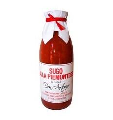 SAUCE PIEMONTAISE SUGO ALLA PIEMONTESE - DON ANTONIO - Maison Ferrero - Epicerie à Ajaccio