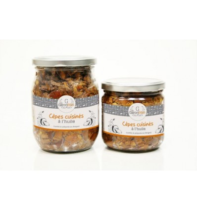 CEPES CUISINES A L'HUILE 90GR- LES GARONDISES - Maison Ferrero - Epicerie à Ajaccio