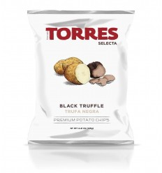 CHIPS À LA TRUFFE NOIRE 110gr - PATATAS TORRES - Maison Ferrero - Epicerie à Ajaccio