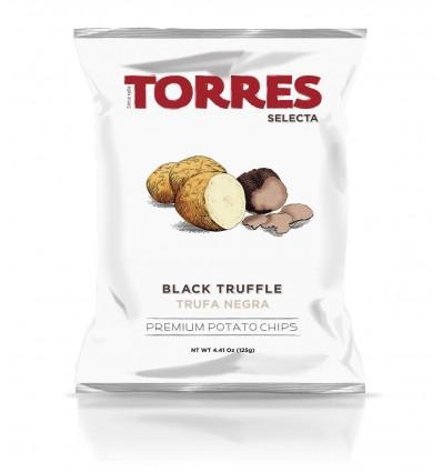 CHIPS À LA TRUFFE NOIRE - PATATAS TORRES