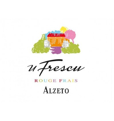 ROUGE ALZETO LE ROUGE FRAIS U FRESCU -CLOS D'ALZETO - Maison Ferrero - Epicerie à Ajaccio