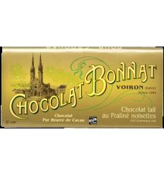 TABLETTE LAIT PRALINE NOISETTE-BONNAT - Maison Ferrero - Epicerie à Ajaccio