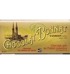 TABLETTE NOIR PRALINE NOISETTE-BONNAT - Maison Ferrero - Epicerie à Ajaccio
