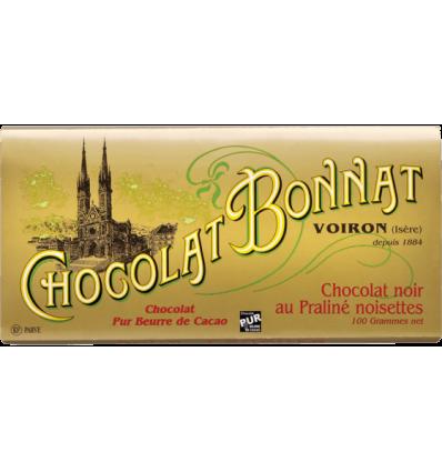 TABLETTE NOIR PRALINE AMANDE-BONNAT - Maison Ferrero - Epicerie à Ajaccio