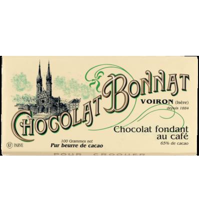 TABLETTE FONDANT NOIR AU CAFE-BONNAT - Maison Ferrero - Epicerie à Ajaccio