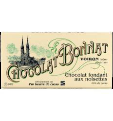 TABLETTE FONDANT NOIR AUX AMANDES -BONNAT - Maison Ferrero - Epicerie à Ajaccio