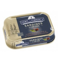 SARDINES MARINADE AU CITRON  115GR LA POINTE DE PENMARCH