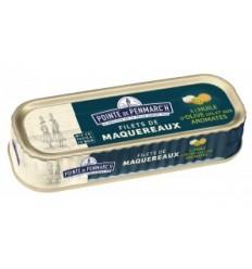 FILET DE MAQUEREAUX H.OLIVE AROMATES 169GR -LA POINTE DE PENMARCH - Maison Ferrero - Epicerie à Ajaccio