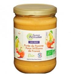 PUREE DE POMME POIRE BIO 560GR - SAVEUR ATTITUDE - Maison Ferrero - Epicerie à Ajaccio