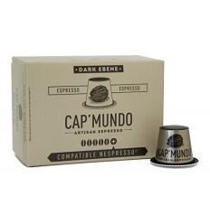 CAFE DARK EBENE 10 CAPSULES - CAP MUNDO - Maison Ferrero - Epicerie à Ajaccio