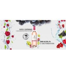 ROSE PRESTIGE 0% ALCOOL 75CL - LE PETIT BERET - Maison Ferrero - Epicerie à Ajaccio