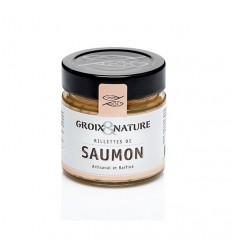 RILLETTES DE SAUMON 100GR - GROIX ET NATURE - Maison Ferrero - Epicerie à Ajaccio