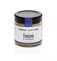 RILLETTES DE THON INDIENNE 100GR - GROIX ET NATURE - Maison Ferrero - Epicerie à Ajaccio
