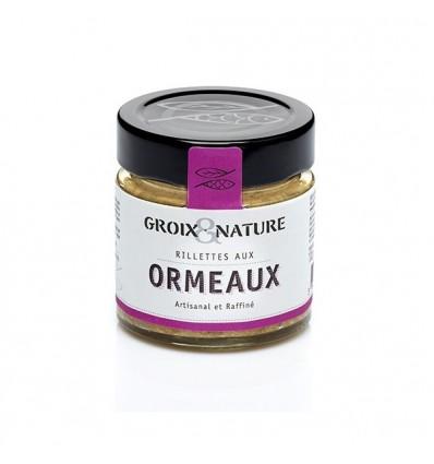 RILLETTES AUX ORMEAUX 100GR - GROIX ET NATURE - Maison Ferrero - Epicerie à Ajaccio