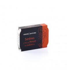 SARDINES A L'HUILE D'OLIVE 115GR - GROIX ET NATURE