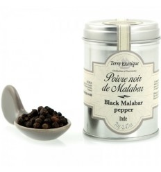 POIVRE NOIR DE MALABAR 70GR- TERRE EXOTIQUE - Maison Ferrero - Epicerie à Ajaccio
