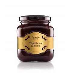 DELICE DE FRUITS ROUGES ET MIEL 230GR - GRANNY'S SECRET - Maison Ferrero - Epicerie à Ajaccio