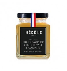 MIEL ACACIA ET GELEE ROYALE FRANCE 125GR - HEDENE PARIS - Maison Ferrero - Epicerie à Ajaccio