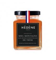 MIEL DE MONTAGNE ET HUILE ESSENTIELLE DE THYM FRANCE 125GR - HEDENE PARIS - Maison Ferrero - Epicerie à Ajaccio