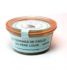 TERIINE DE CAILLE NATURE 100GR - DROME CAILLE