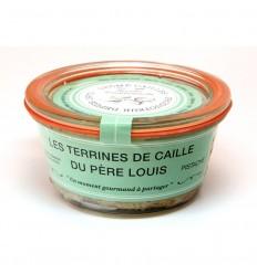 TERRINE DE CAILLE A LA PISTACHE 110GR - DROME CAILLE - Maison Ferrero - Epicerie à Ajaccio