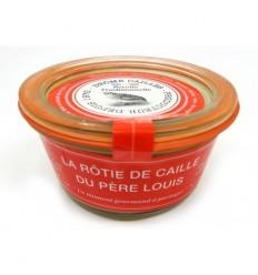 TERIINE DE CAILLE AU POIVRE VERT 100GR - DROME CAILLE