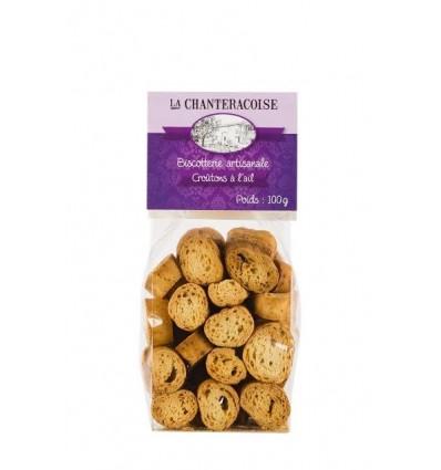 CROUTONS BIO À L'AIL 100GR -CHANTERACOISE - Maison Ferrero - Epicerie à Ajaccio