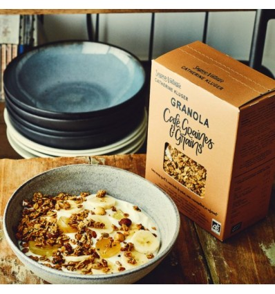 GRANOLA BIO SUPERNATURE CAFE 350GR - CATHERINE KLUGER - Maison Ferrero - Epicerie à Ajaccio
