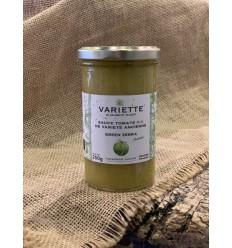 SAUCE TOMATE BIO VARIETE ANCIENNE GREEN ZEBRA 250GR - VARIETTE - Maison Ferrero - Epicerie à Ajaccio