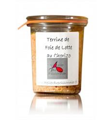 RILLETTES DE FOIE DE LOTTE AU CHORIZO 90gr- ATELIER DU POISSONNIER - Maison Ferrero - Epicerie à Ajaccio