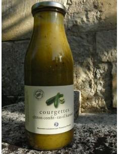 SOUPE COURGETTES ET CITRON RAS EL HANOUT-FLEURIET - Maison Ferrero - Epicerie à Ajaccio