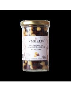 POIS CHICHES BIO AU NATUREL 255GR - VARIETTE - Maison Ferrero - Epicerie à Ajaccio