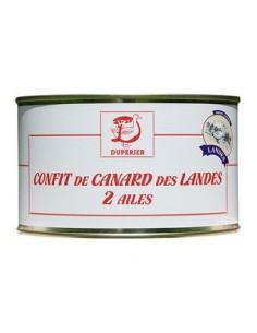 CONFIT DE CANARD DES LANDES 2 CUISSES 700G-DUPERIER ET FILS - Maison Ferrero - Epicerie à Ajaccio