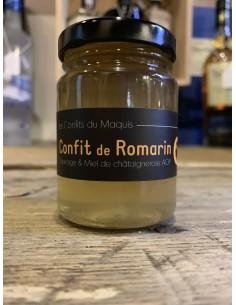 CONFIT DE ROMARIN MIEL 100GR- LES CONFITS DU MAQUIS - Maison Ferrero - Epicerie à Ajaccio