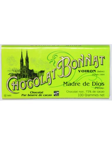 TABLETTE MADRE DE DIOS GRAND CRU D'EXCEPTION100 GR-BONNAT - Maison Ferrero - Epicerie à Ajaccio