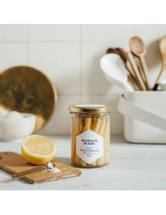 ASPERGES POINTES BLANCHES Bocal 190g (net égouté)- MAISON MARC - Maison Ferrero - Epicerie à Ajaccio