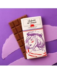 TABLETTE BIO 41% LAIT MARINE 80GR- LE CHOCOLAT DES FRANCAIS - Maison Ferrero - Epicerie à Ajaccio