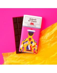 TABLETTE BIO 71% NOIR SEL DE CAMARGUE LE MARIN TATOUE 80GR- LE CHOCOLAT DES FRANCAIS - Maison Ferrero - Epicerie à Ajaccio