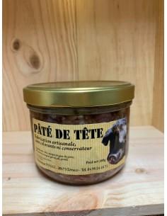 PATE DE TETE 380G - CHARCTUTERIE POGGI - Maison Ferrero - Epicerie à Ajaccio